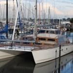 Luxus-Katamaran Barrakuda steht zum Verkauf
