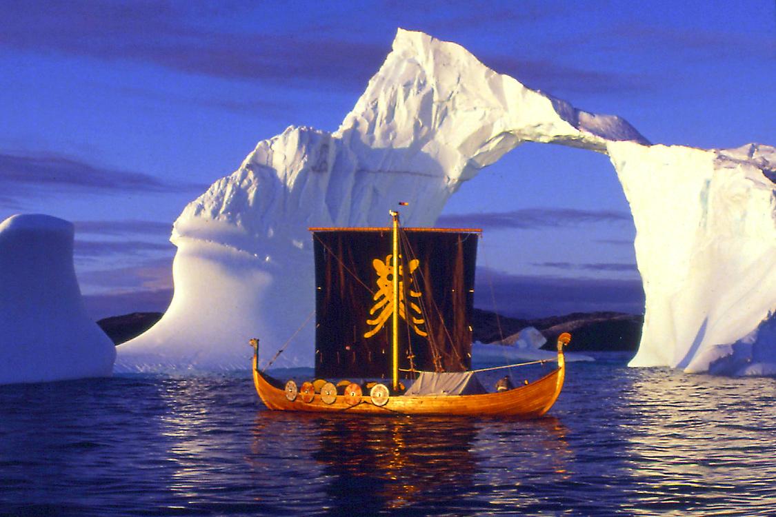 Wikinger im Eis