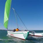 Auslegerboot ANA-VARU