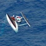 Schiffbruch auf dem Pazifik